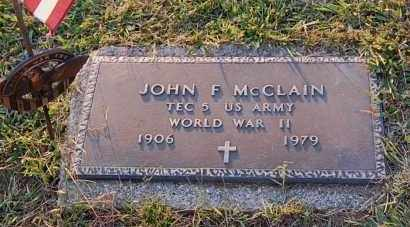 MCCLAIN, JOHN F. - Meigs County, Ohio | JOHN F. MCCLAIN - Ohio Gravestone Photos