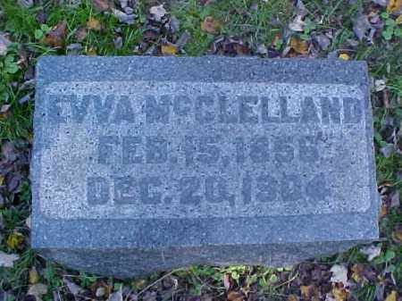 MCCLELLAND, EVVA - Meigs County, Ohio | EVVA MCCLELLAND - Ohio Gravestone Photos