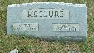 MCCLURE, ALUVIA - Meigs County, Ohio | ALUVIA MCCLURE - Ohio Gravestone Photos
