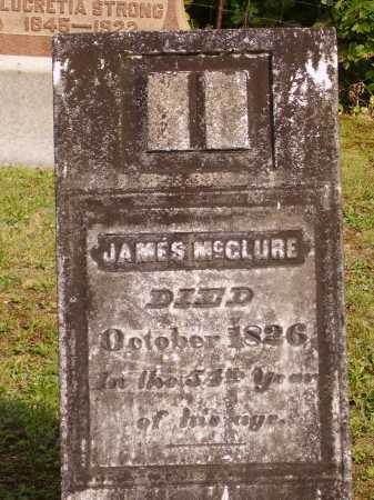 MCCLURE, JAMES - Meigs County, Ohio | JAMES MCCLURE - Ohio Gravestone Photos