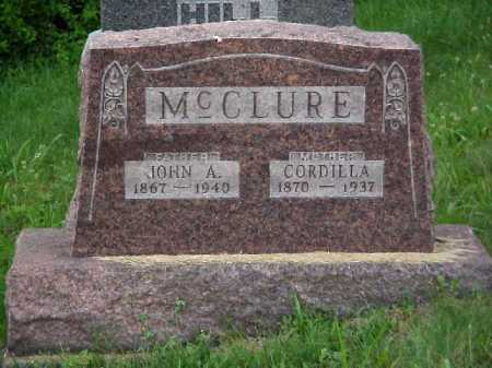 MCCLURE, CORDILLA - Meigs County, Ohio | CORDILLA MCCLURE - Ohio Gravestone Photos