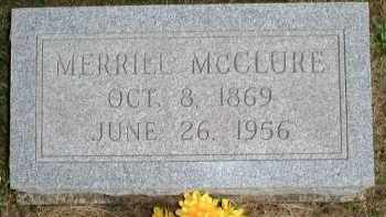 "MCCLURE, MERRILL EARL ""MELLY"" - Meigs County, Ohio 