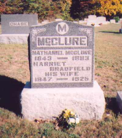 BRADFIELD MCCLURE, HARRIET - Meigs County, Ohio | HARRIET BRADFIELD MCCLURE - Ohio Gravestone Photos