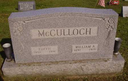 VANBIBBER MCCULLOCH, EDITH - Meigs County, Ohio | EDITH VANBIBBER MCCULLOCH - Ohio Gravestone Photos