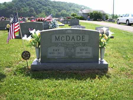 ROSE, MCDADE - Meigs County, Ohio | MCDADE ROSE - Ohio Gravestone Photos
