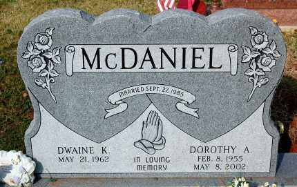 MCDANIEL, DWAINE K. - Meigs County, Ohio | DWAINE K. MCDANIEL - Ohio Gravestone Photos