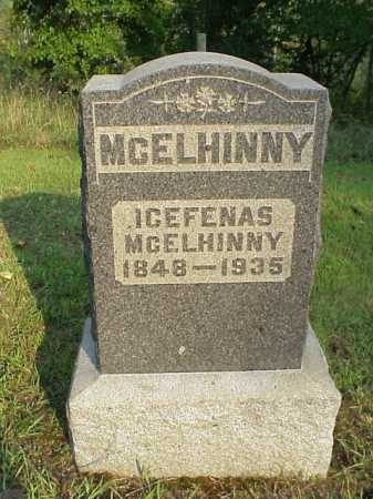 MCELHINNY, ICEFENAS - Meigs County, Ohio | ICEFENAS MCELHINNY - Ohio Gravestone Photos