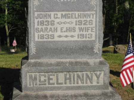 MCELHINNY, SARAH E - Meigs County, Ohio | SARAH E MCELHINNY - Ohio Gravestone Photos