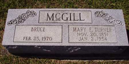 MCGILL, [MARIE] MARY E. - Meigs County, Ohio | [MARIE] MARY E. MCGILL - Ohio Gravestone Photos