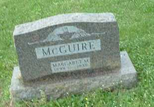 MCGUIRE, MARGARET M. - Meigs County, Ohio | MARGARET M. MCGUIRE - Ohio Gravestone Photos