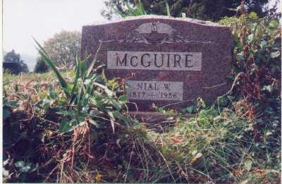 MCGUIRE, NIAL W. - Meigs County, Ohio | NIAL W. MCGUIRE - Ohio Gravestone Photos