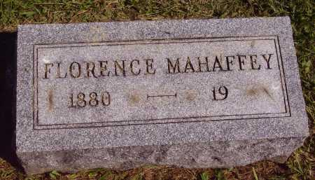 MCHAFFEY, FLORENCE - Meigs County, Ohio | FLORENCE MCHAFFEY - Ohio Gravestone Photos
