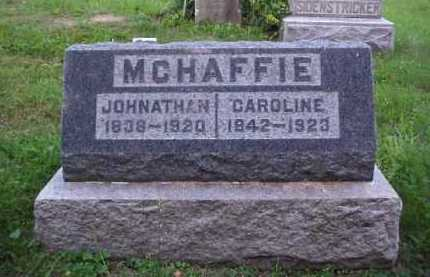 MCHAFFIE, JOHNATHAN - Meigs County, Ohio | JOHNATHAN MCHAFFIE - Ohio Gravestone Photos
