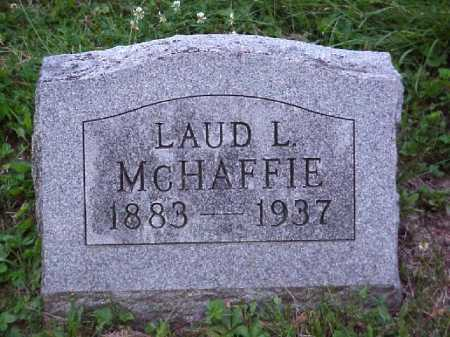 MCHAFFIE, LAUD L. - Meigs County, Ohio | LAUD L. MCHAFFIE - Ohio Gravestone Photos