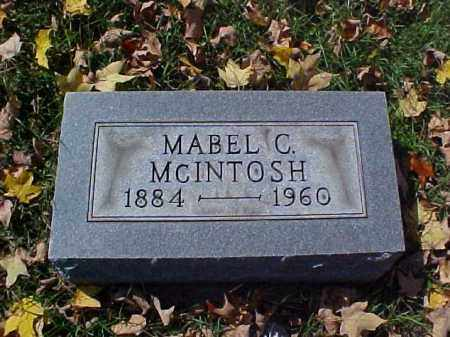 SCOTT MCINTOSH, MABLE C. - Meigs County, Ohio | MABLE C. SCOTT MCINTOSH - Ohio Gravestone Photos