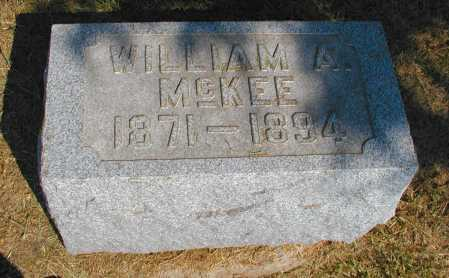 MCKEE, WILLIAM A. - Meigs County, Ohio | WILLIAM A. MCKEE - Ohio Gravestone Photos