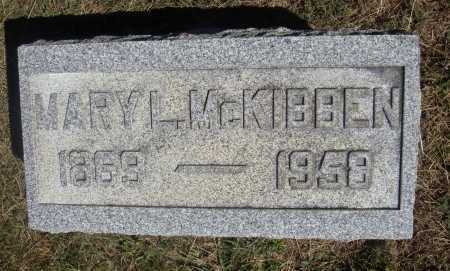LITLE MCKIBBEN, MARY L. - Meigs County, Ohio   MARY L. LITLE MCKIBBEN - Ohio Gravestone Photos