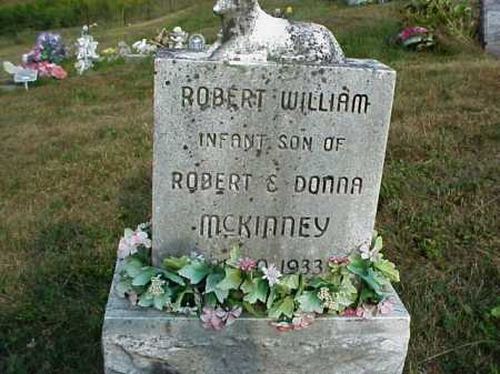 MCKINNEY, ROBERT WILLIAM - Meigs County, Ohio | ROBERT WILLIAM MCKINNEY - Ohio Gravestone Photos