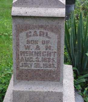 MCKNIGHT, CARL - Meigs County, Ohio | CARL MCKNIGHT - Ohio Gravestone Photos