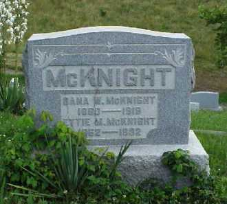 MCKNIGHT, ETTIE M. - Meigs County, Ohio | ETTIE M. MCKNIGHT - Ohio Gravestone Photos