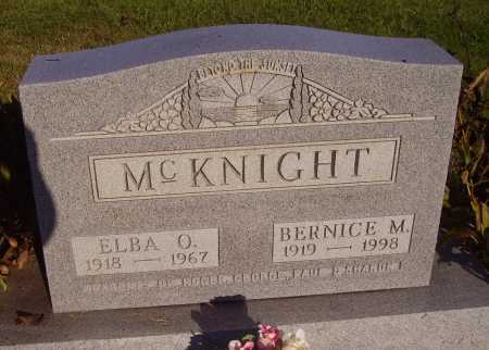 MCKNIGHT, ELBA O. - Meigs County, Ohio | ELBA O. MCKNIGHT - Ohio Gravestone Photos