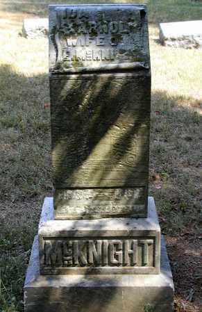 ARNOLD MCKNIGHT, IDA - Meigs County, Ohio | IDA ARNOLD MCKNIGHT - Ohio Gravestone Photos