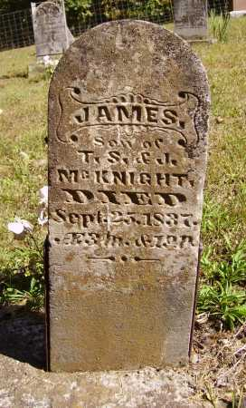 MCKNIGHT, JAMES - Meigs County, Ohio | JAMES MCKNIGHT - Ohio Gravestone Photos