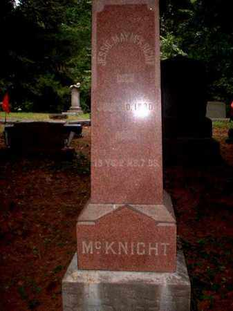 MCKNIGHT, JESSIE MAY - Meigs County, Ohio | JESSIE MAY MCKNIGHT - Ohio Gravestone Photos