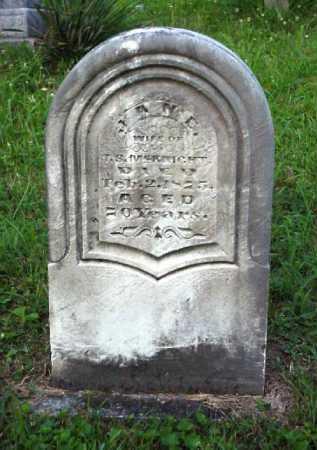 MCKNIGHT, JANE - Meigs County, Ohio | JANE MCKNIGHT - Ohio Gravestone Photos
