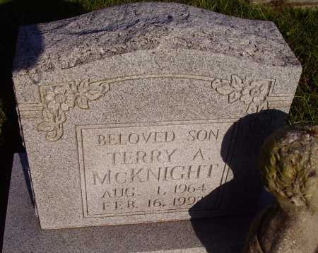 MCKNIGHT, TERRY A. - Meigs County, Ohio | TERRY A. MCKNIGHT - Ohio Gravestone Photos
