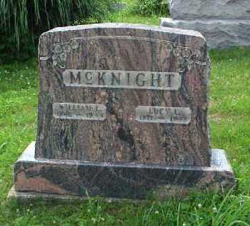 MCKNIGHT, LUCY L. - Meigs County, Ohio | LUCY L. MCKNIGHT - Ohio Gravestone Photos