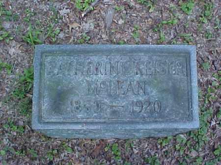 MCLEAN, KATHERINE - Meigs County, Ohio | KATHERINE MCLEAN - Ohio Gravestone Photos