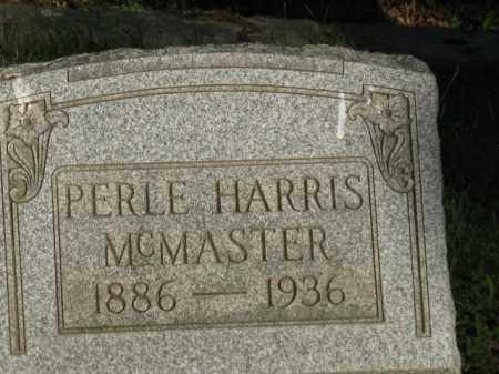 MCMASTER, PERLE - Meigs County, Ohio | PERLE MCMASTER - Ohio Gravestone Photos