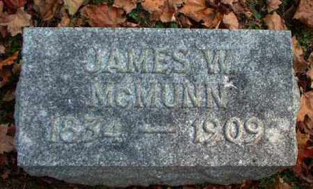 MCMUNN, JAMES W. - Meigs County, Ohio | JAMES W. MCMUNN - Ohio Gravestone Photos
