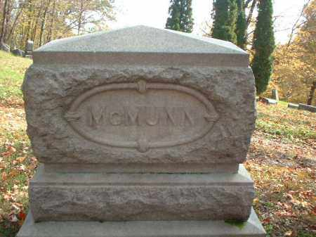 MCMUNN, MONUMENT - Meigs County, Ohio | MONUMENT MCMUNN - Ohio Gravestone Photos