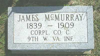 MCMURRAY, JAMES - Meigs County, Ohio | JAMES MCMURRAY - Ohio Gravestone Photos