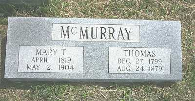 MCMURRAY, THOMAS - Meigs County, Ohio | THOMAS MCMURRAY - Ohio Gravestone Photos