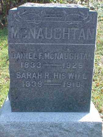 MCNAUGHTAN, DANIEL F. - Meigs County, Ohio | DANIEL F. MCNAUGHTAN - Ohio Gravestone Photos