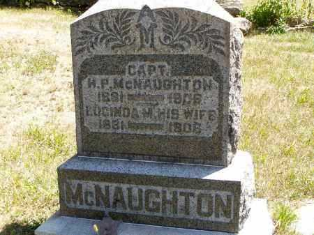 MCNAUGHTON, LUCINDA M. - Meigs County, Ohio | LUCINDA M. MCNAUGHTON - Ohio Gravestone Photos