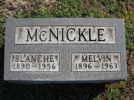 MCNICKLE, BLANCHE - Meigs County, Ohio | BLANCHE MCNICKLE - Ohio Gravestone Photos