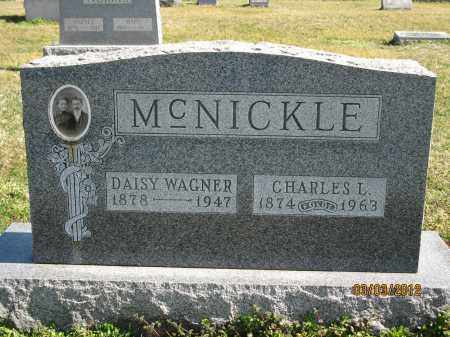 MCNICKLE, CHARLES L - Meigs County, Ohio | CHARLES L MCNICKLE - Ohio Gravestone Photos