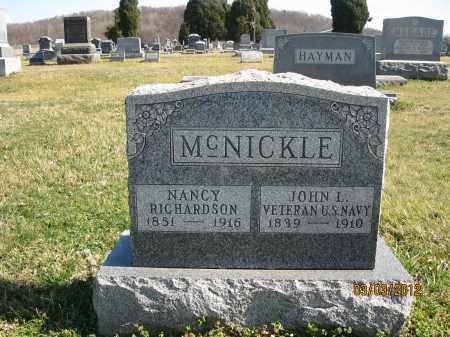 MCNICKLE, NANCY - Meigs County, Ohio | NANCY MCNICKLE - Ohio Gravestone Photos