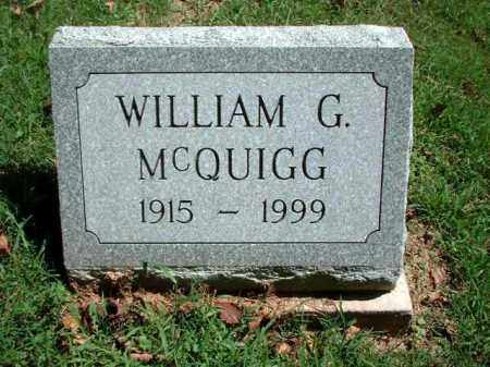 MCQUIGG, WILLIAM G. - Meigs County, Ohio | WILLIAM G. MCQUIGG - Ohio Gravestone Photos