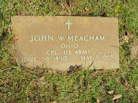 MEACHAM, JOHN W. - Meigs County, Ohio | JOHN W. MEACHAM - Ohio Gravestone Photos