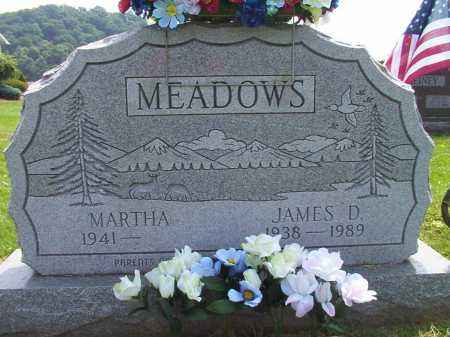 MEADOWS, JAMES DONALD - Meigs County, Ohio | JAMES DONALD MEADOWS - Ohio Gravestone Photos