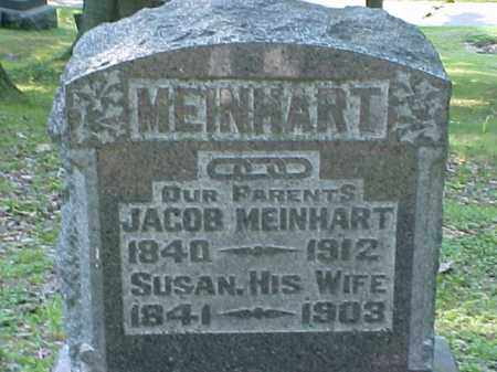MEINHART, JACOB - Meigs County, Ohio | JACOB MEINHART - Ohio Gravestone Photos