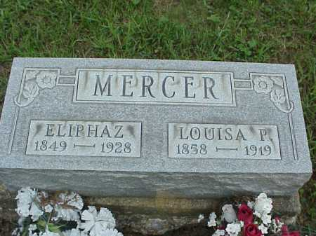 MERCER, LOUISA P. - Meigs County, Ohio | LOUISA P. MERCER - Ohio Gravestone Photos