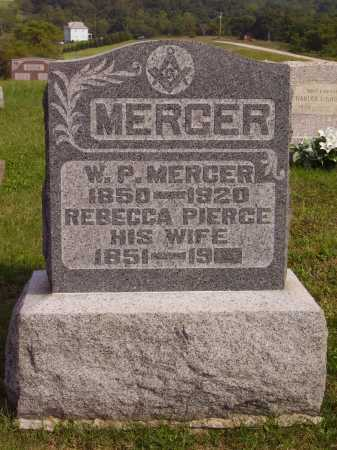 MERCER, REBECCA LUCINDA - Meigs County, Ohio | REBECCA LUCINDA MERCER - Ohio Gravestone Photos