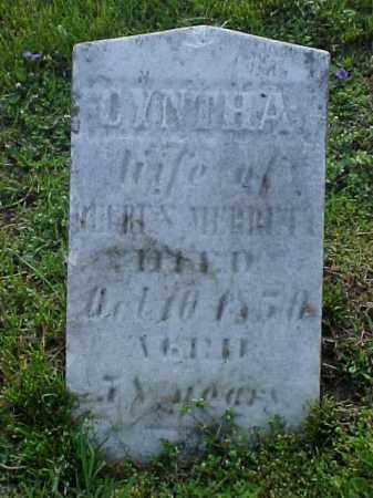 MERRETT, CYNTHA - Meigs County, Ohio | CYNTHA MERRETT - Ohio Gravestone Photos