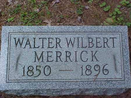 MERRICK, WALTER WILBERT - Meigs County, Ohio | WALTER WILBERT MERRICK - Ohio Gravestone Photos